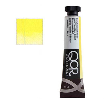 QoR Watercolor 11ml tube Bismuth Vanadate Yellow