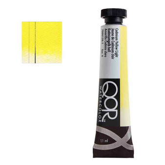 QoR Watercolor 11ml tube Cadmium Yellow Light