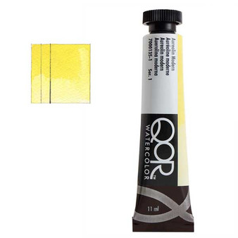 QoR Watercolor 11ml tube Aureolin Modern