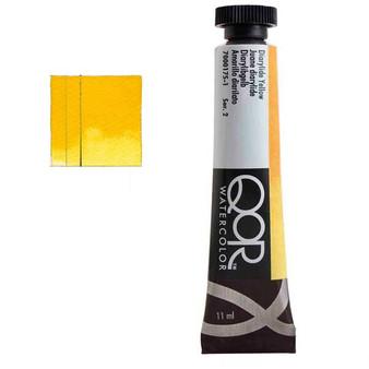 QoR Watercolor 11ml tube Diarylide Yellow