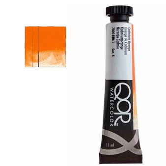 QoR Watercolor 11ml tube Cadmium Orange
