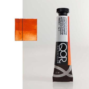 QoR Watercolor 11ml tube Transparent Pyrrole Orange