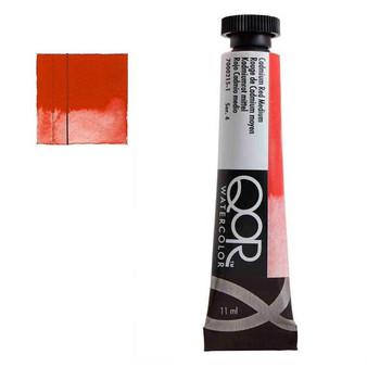QoR Watercolor 11ml tube Cadmium Red Medium