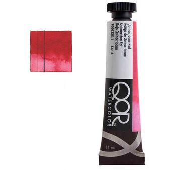QoR Watercolor 11ml tube Quinacridone Red