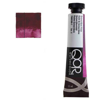 QoR Watercolor 11ml tube Quinacridone Violet