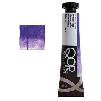 QoR Watercolor 11ml tube Ultramarine Violet