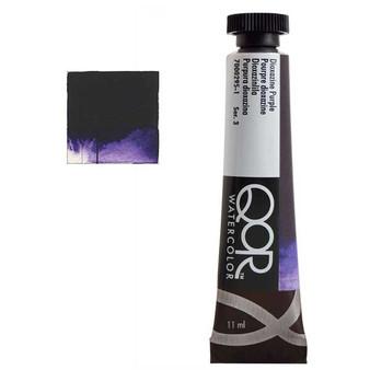 QoR Watercolor 11ml tube Dioxazine Purple