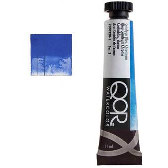 QoR Watercolor 11ml tube Cerulean Blue Chromium