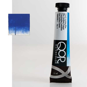 QoR Watercolor 11ml tube French Cerulean Blue