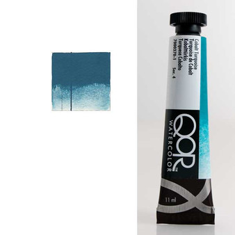 QoR Watercolor 11ml tube Cobalt Turquoise