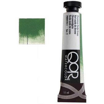 QoR Watercolor 11ml tube Chromium Oxide Green