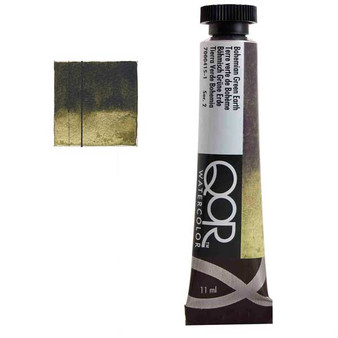 QoR Watercolor 11ml tube Bohemian Green Earth