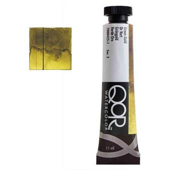 QoR Watercolor 11ml tube Green Gold