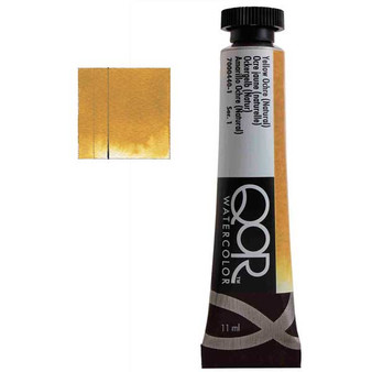 QoR Watercolor 11ml tube Yellow Ochre (Natural)