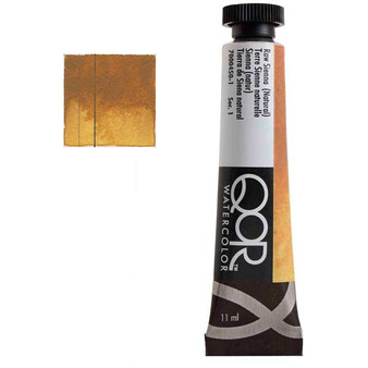 QoR Watercolor 11ml tube Raw Sienna (Natural)