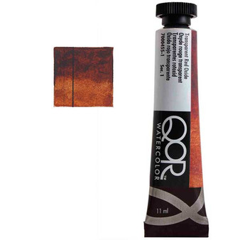 QoR Watercolor 11ml tube Transparent Red Oxide