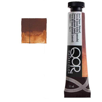 QoR Watercolor 11ml tube Burnt Sienna (Natural)