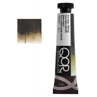 QoR Watercolor 11ml tube Raw Umber (Natural)