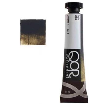 QoR Watercolor 11ml tube Sepia