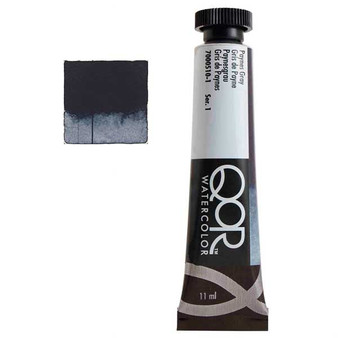 QoR Watercolor 11ml tube Paynes Gray