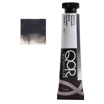 QoR Watercolor 11ml tube Neutral Tint