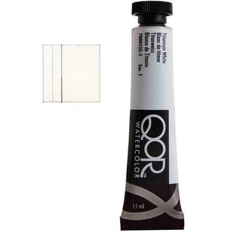 QoR Watercolor 11ml tube Titanium White