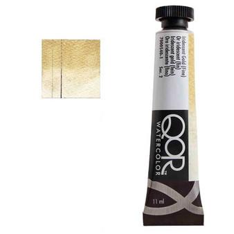 QoR Watercolor 11ml tube Iridescent Gold (Fine)