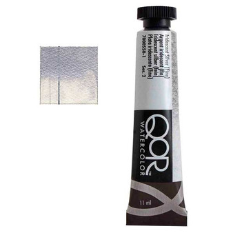 QoR Watercolor 11ml tube Iridescent Silver (Fine)