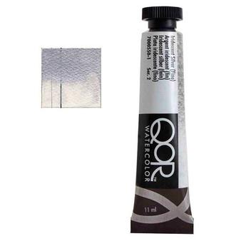 QoR Watercolor 11ml tube Iridescent Silver (Fine)