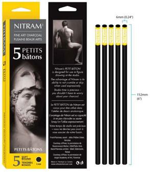 Nitram Batons Petits Soft Round 6mm