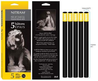 Nitram Batons Epais Soft Round 12mm