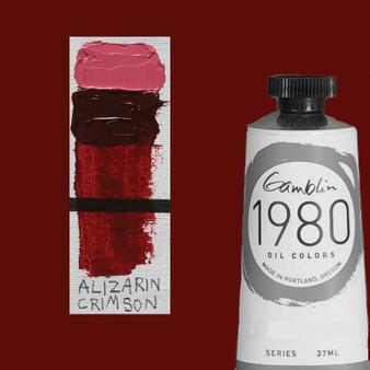 Gamblin 1980 Oil Paint 37ml Alizarin Crimson