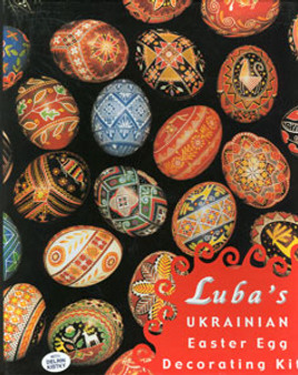 Luba's Ukrainian Egg Super Color Kit