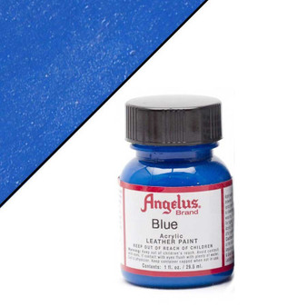Angelus Leather Paint 1oz Blue