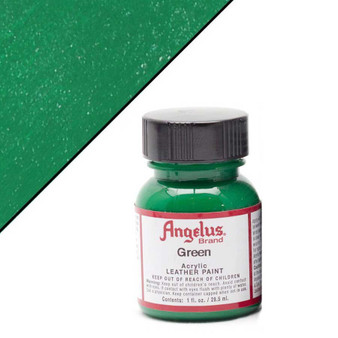 Angelus Leather Paint 1oz Green