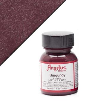 Angelus Leather Paint 1oz Burgundy