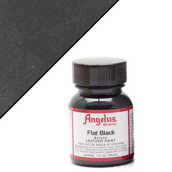 Angelus Leather Paint 1oz Flat Black