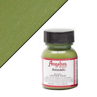 Angelus Leather Paint 1oz Avocado