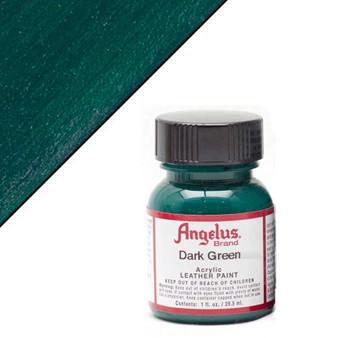 Angelus Leather Paint 1oz Dark Green