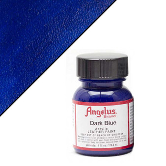 Angelus Leather Paint 1oz Dark Blue