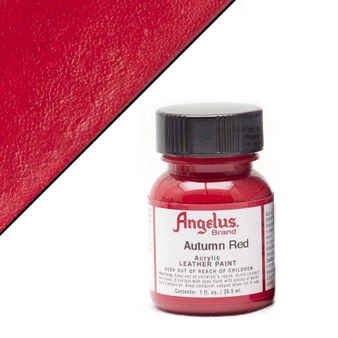 Angelus Leather Paint 1oz Autumn Red