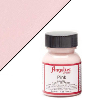 Angelus Leather Paint 1oz Pink