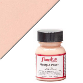 Angelus Leather Paint 1oz Georgia Peach