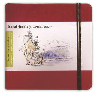 Global Art Hand Book Journal Vermilion Sq 5.5x5.5