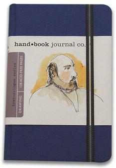 Global Art Hand Book Journal Ultramarine Blue Port 8.25x5.5