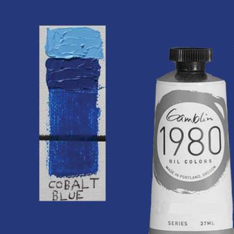 Gamblin 1980 Oil Paint 37ml Cobalt Blue