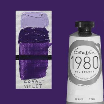 Gamblin 1980 Oil Paint 37ml Cobalt Violet