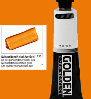 Golden Open Acrylic 2oz Quinacridone/Nickel Azo Gold