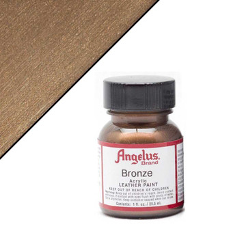 Angelus Leather Paint 1oz Metallic Bronze