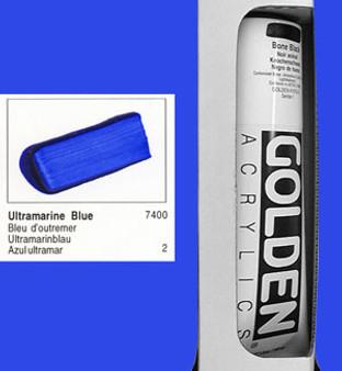 Golden Open Acrylic 5oz Ultramarine Blue
